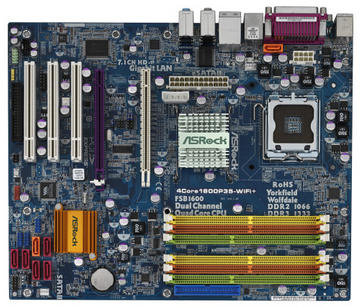 ASRock4Core1600P35-WiFi+ P35/LGA775