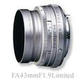 PENTAXFA 43mm F1.9 Limited Silver