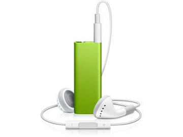 Apple iPod Shuffle 4GB (Green) MC307J/A