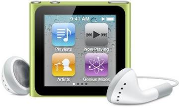 AppleiPod nano 8GB (2010/グリーン) MC690J/A 第6世代