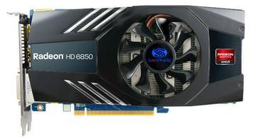 SAPPHIREHD6850 1G GDDR5 PCI-E DL-DVI-I/SL-DVI-D/HDMI/DP(11180-00-20R)
