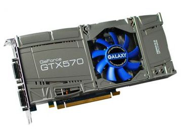 GALAXY(GALAX)GF PGTX570/1280D5 FUJIN2.1 GeForce GTX570 1280MB(GDDR5)