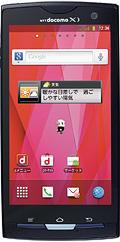 Fujitsudocomo NEXT series ARROWS X LTE F-05D Blue Black