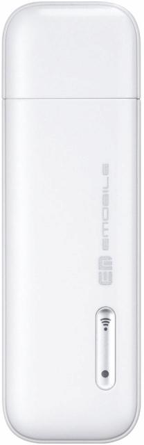 HuaweiEMOBILE GD03W Stick WiFi ホワイト