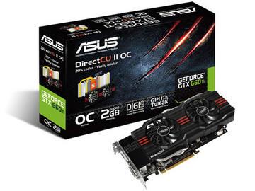 ASUSGTX660 TI-DC2O-2GD5 GTX660Ti/2GB(GDDR5)/PCI-E