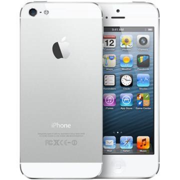 au iPhone 5 16GB ホワイト&シルバー ME040J/A