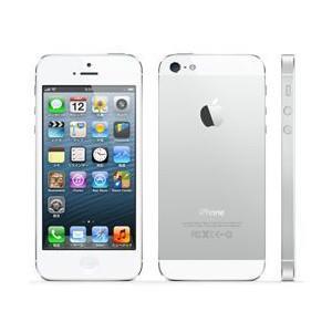 AppleSoftBank iPhone 5 32GB ホワイト&シルバー MD300J/A