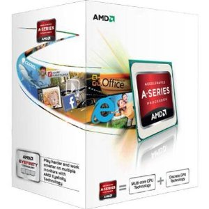 AMD A10-5700(3.4GHz/4Core/L2 1MBx4/HD7660D/TDP65W) BOX FM2