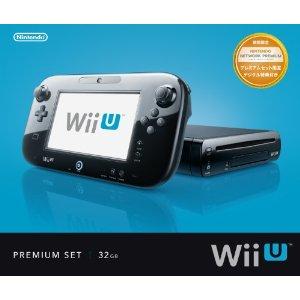 NintendoWii U プレミアムセット kuro WUP-S-KAFC