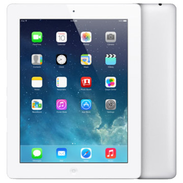 Appleau iPad(第4世代) Wi-Fi+Cellular 16GB ホワイト MD525J/A