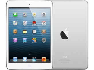 Appleau iPad mini Cellular 64GB ホワイト&シルバー MD545J/A