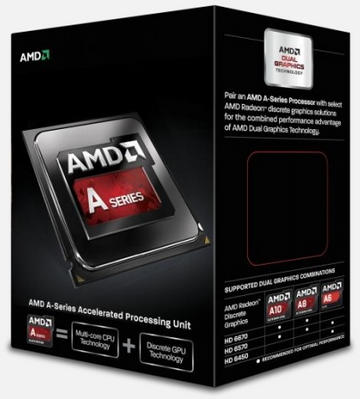 AMDA10-6800K(4.1GHz/4Core/L2 4MB/HD8670D/TDP100W) BOX FM2