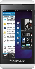 BlackBerry BlackBerry Z10 LTE STL100-2 White RFH121LW(海外携帯)