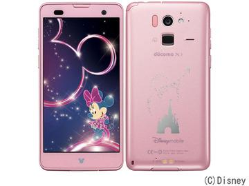 Fujitsudocomo Disney Mobile on docomo F-07E LightPink