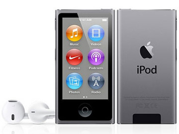 AppleiPod nano 16GB (2013/スペースグレイ) ME971J/A 第7世代
