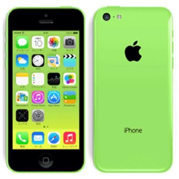 au iPhone 5c 16GB グリーン ME544J/A