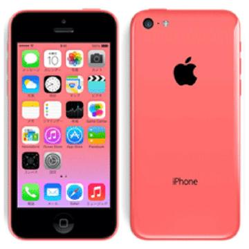 au iPhone 5c 32GB ピンク MF153J/A