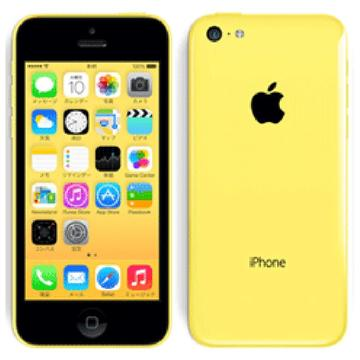 Apple au iPhone 5c 32GB イエロー MF150J/A