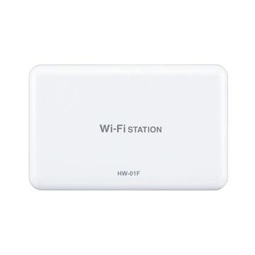 Huaweidocomo Wi-Fi STATION HW-01F White