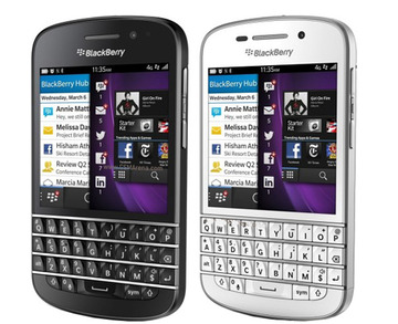 BlackBerryBlackBerry Q10 SQN100(海外携帯)