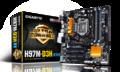 GIGABYTEGA-H97M-D3H H97/LGA1150/MicroATX