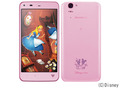 SHARPdocomo Disney Mobile on docomo SH-05F Sliky Pink