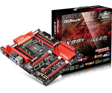 ASRockFatal1ty X99X Killer X99/LGA2011-v3(DDR4)/1000Base-T LAN(Killer E2200+Intel I218V)/M.2(x4)/ATX