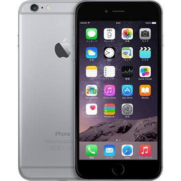au iPhone 6 Plus 64GB スペースグレイ MGAH2J/A