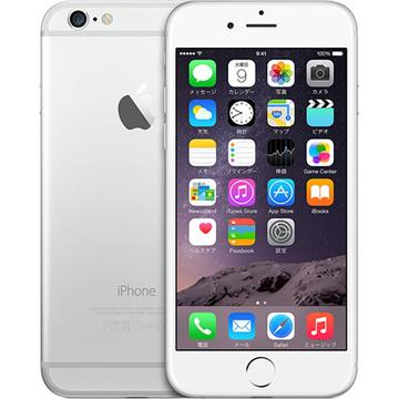 AppleiPhone 6 64GB シルバー (国内版SIMロックフリー) MG4H2J/A