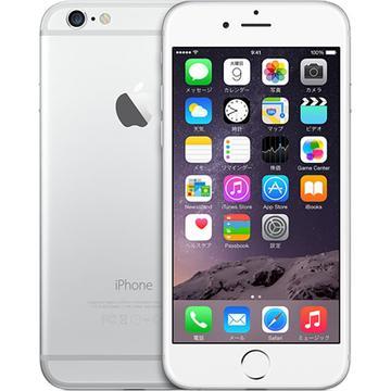 iPhone 6 128GB シルバー (国内版SIMロックフリー) MG4C2J/A