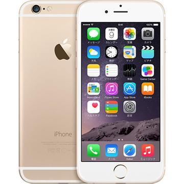 iPhone 6 128GB ゴールド (国内版SIMロックフリー) MG4E2J/A