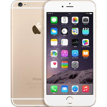 Apple SoftBank iPhone 6 Plus 64GB ゴールド MGAK2J/A