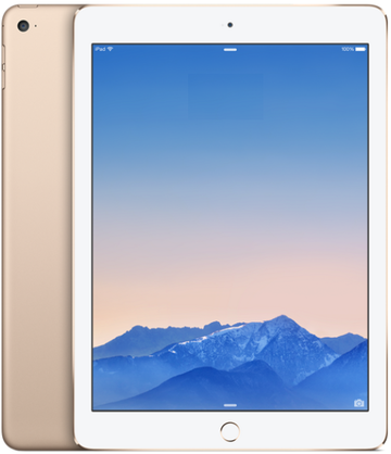 Appleau iPad Air2 Cellular 128GB ゴールド MH1G2J/A