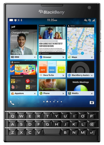 BlackBerry BlackBerry Passport LTE SQW100-1 Black RGY181LW