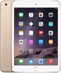 Apple au iPad mini3 Cellular 64GB ゴールド MGYN2J/A