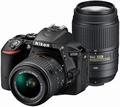 NikonD5500 ダブルズームキット ブラック