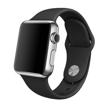 AppleApple Watch 38mm ステンレススチール/ブラックスポーツバンド MJ2Y2J/A
