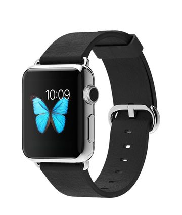 AppleApple Watch 38mm ステンレススチール/ブラッククラシックバックル MJ312J/A