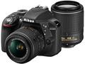 NikonD3300 ダブルズームキット2 ブラック