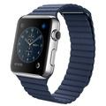 AppleApple Watch 42mm ステンレススチール/ブライトブルーレザーループ
