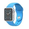 Apple Apple Watch Sport 38mm シルバーアルミニウム/ブルースポーツバンド MJ2V2J/A