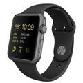 Apple Apple Watch Sport 42mm スペースグレイアルミニウム/ブラックスポーツバンド MJ3T2J/A