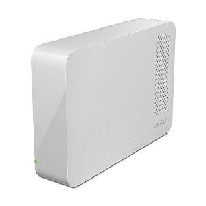 BUFFALOHD-LC4.0U3-WHD [ホワイト] 4TB/外付HDD/USB2.0/3.0
