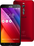 ASUSZenFone 2 2GB 16GB 5インチ レッド (海外版SIMロックフリー) ZE500CL