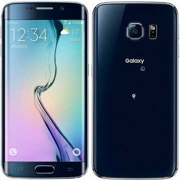 SAMSUNG SoftBank GALAXY S6 edge 404SC 32GB ブラック サファイア