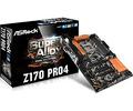ASRockZ170 Pro4 Z170/LGA1151(DDR4)/M.2/SATA Express/ATX