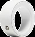 LogbarRing ZERO Shiny White Lサイズ R001-PW03