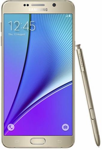 SAMSUNGGALAXY Note 5 Dual SIM SM-N9200 LTE 32GB Gold Platinum(海外携帯)