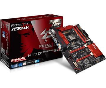 ASRockFatal1ty H170 Performance H170/LGA1151(DDR4)/M.2/SATA Express/USB 3.1(Type-C)/ATX