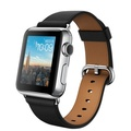 AppleApple Watch 38mm ステンレススチール/ブラッククラシックバックル MLE62J/A